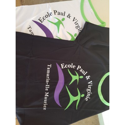 T-SHIRT ECOLE PAUL ET VIRGINIE
